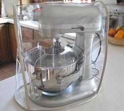 Almond Trim CLEAR MIXER COVER fits KitchenAid Bowl-Lift Stan