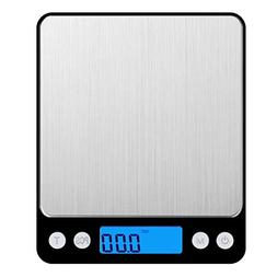 AMIR 3000g 0.01oz/0.1g Digital Food Scale for Christmas Gift