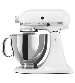 KitchenAid Artisan 5KSM175PSEWH 5 Qt.Stand Mixer White with