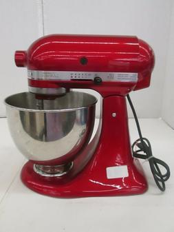Kitchenaid Artisan Design Series Stand Mixer Candy Apple Red