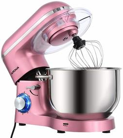 Aucma Stand Mixer,6.5-QT 660W 6-Speed Tilt-Head Food Mixer,