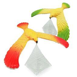 Jonerytime Amazing Balancing Eagle with Pyramid Stand Magic