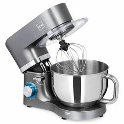 BCP 660W 6-Speed 6.3qt Stainless Steel Kitchen Stand Mixer w