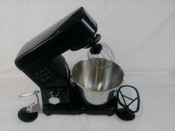 Hamilton Beach 6-Speed Stand Mixer - Black  has a small crac