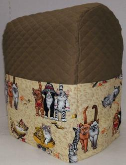 Beach Cats Cover Compatible with Kitchenaid Stand Mixer by P