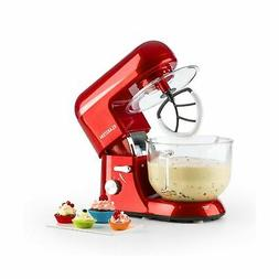 KLARSTEIN Bella Rossa 2g, Tilt-Head Electric Stand Mixer, Do