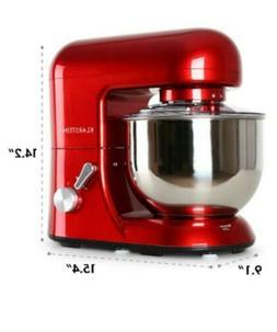 KLARSTEIN Bella Rossa • Stand Mixer • 1200 Watts • 6 H
