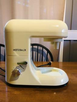 KLARSTEIN Bella Rossa Tilt-Head Electric Stand Mixer Dough H