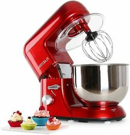 KLARSTEIN Bella Rossa ? Tilt-Head Stand Mixer ? Dough Hook,
