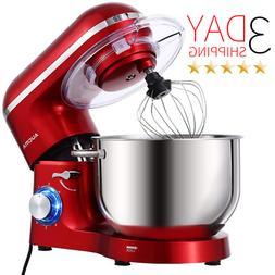 BEST AUCMA Stand Mixer 6.5-QT 660W 6-Speed Tilt-Head Food Mi