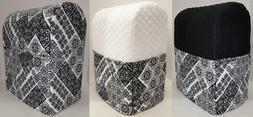 Black & White Mosaic Damask Cover Compatible with Kitchenaid