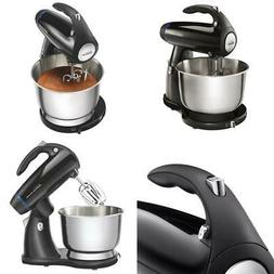 Sunbeam Black Stand Mixer with Stainless Steel Bowl Mixmaste