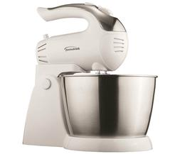 BRAND NEW Brentwood SM-1152 5-Speed + Turbo Stand Mixer, Whi