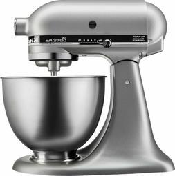 KitchenAid - Classic Stand Mixer 4.5-Qt - Silver Model:KSM75