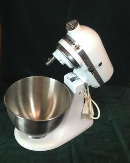 KitchenAid Classic Tilt-Head Stand Mixer, K45SS w/4.5 qt. bo