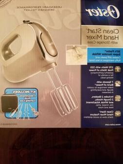 OSTER CLEAN START SILVER HAND MIXER 270 WATT 7 SPEED WHISK D