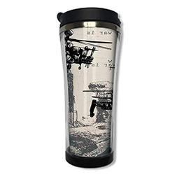 Travel Coffee Mug 3D Printed Portable Vacuum Cup,Insulated T