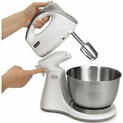 Combo Hand and Stand Mixer White 3 Qt