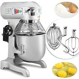 Happybuy Commercial Food Mixer 750W Dough Mixer Maker 3 Spee