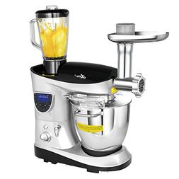 Litchi Cooking & Mixing Stand Mixer 7.4 Quart Multifunctiona
