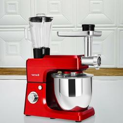 Cost Way 3 In 1 Upgraded Stand Mixer with 7QT Stainless Stee
