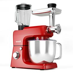 Costway 3 In 1 Upgraded Stand Mixer with 7QT Stainless Steel