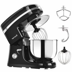 Electric Food Stand Mixer 6 Speed  Stainless Steel Bowl Kitc