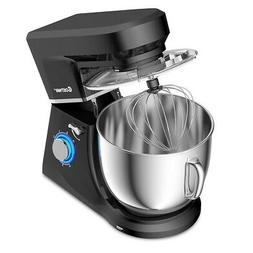 Countertop Stand Mixer 7.5 Qt 6 Speed 660W 3 Attachments Til