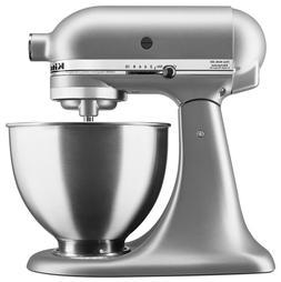 KitchenAid Deluxe 4.5 Quart Tilt-Head Stand Mixer, Silver 10