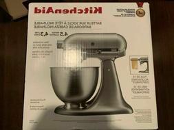 KitchenAid Deluxe 4.5 Quart Tilt-Head Stand Mixer, Cobalt Bl