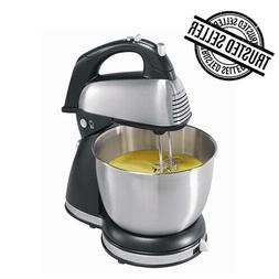 6 Speed Electric Food Stand Mixer 4Qt 290W Tilt-Head Stainle