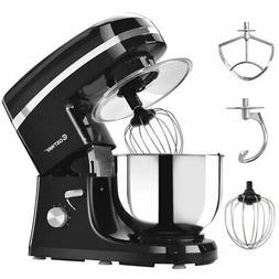 Costway Electric Food Stand Mixer 6 Speed 5.3Qt 800W Tilt-He