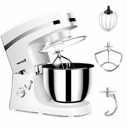 Electric Food Stand Mixer 6 Speed 5.3Qt 800W Tilt-Head Stain
