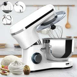 Electric Food Stand Mixer 6 Speed 6QT 660W Tilt-Head Stainle