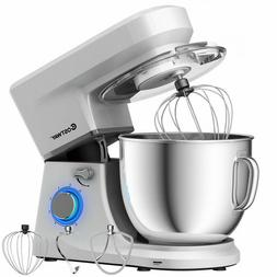 Electric Food Stand Mixer 6 Speed 7.5 QT 660W Tilt-Head Stai