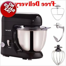 Electric Food Tilt-head Stand Mixer Stainless Steel Bowl Dou