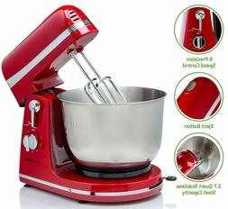 Ovente Electric Professional Stand Mixer, 300W, 6 Mixing Spe