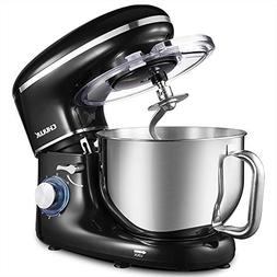 CHULUX Electric Stand Mixer, 660W Tilt-Head Kitchen Electric