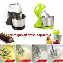 Electric Stand Mixer 7-Speed Kitchen Mixer with Dough Hooks