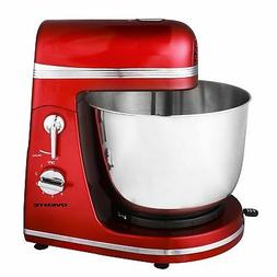 6-Speed Professional Electric Stand Mixer, Red