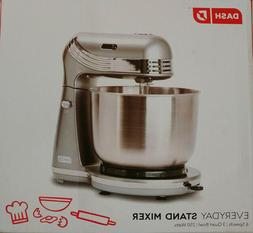 Dash Everyday Stand Mixer, Silver