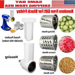 Kitchen Food Meat Grinder Slicer Shredder Fresh Prep Attachm