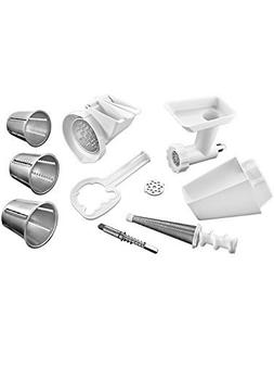 Kitchenaid FPPC Attachment Pack NEW Grinder + Strainer + NEW