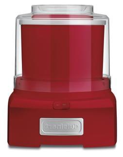 CONAIR FROZEN YOGURT-ICE CREAM -RED 1.50 quart / ICE-21R /