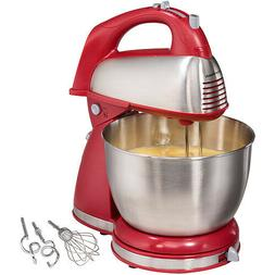 Hamilton Beach Classic Hand and Stand Mixer Red | Model# 646
