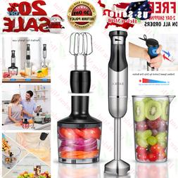 Hand Blender Immersion Stick Electric Chopper Emulsion Hand