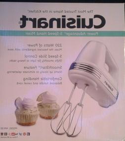 Cuisinart HM-50 Power Advantage 5 Speed Hand Mixer - White
