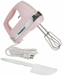 Cuisinart HM-50PK Power Advantage 5-Speed Hand Mixer, Pink