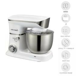 Home Kitchen 5L Bowl Stand Mixer Dough Mixer 600W 6 Speeds D