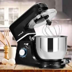 Home Kitchen 6 Speed 7.5 Qt Tilt-Head Stainless Steel Electr